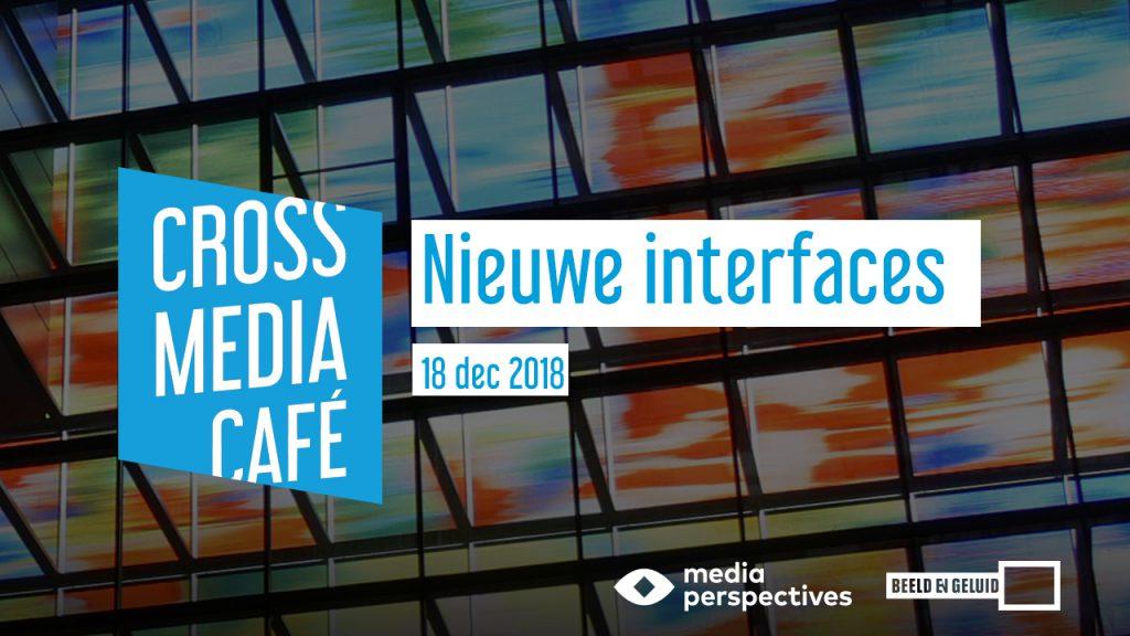 Cross Media Café 18 december