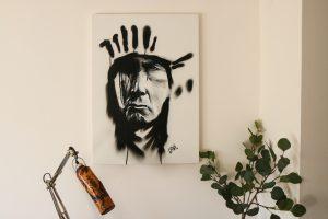 Airbrush indiaan
