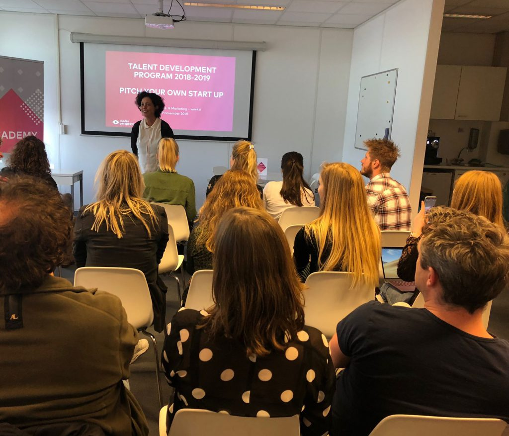 Presentatie startups Business & Marketing