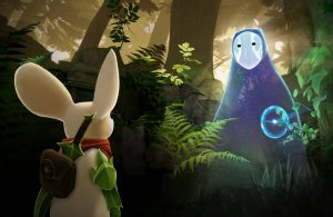 Virtual Reality game Moss