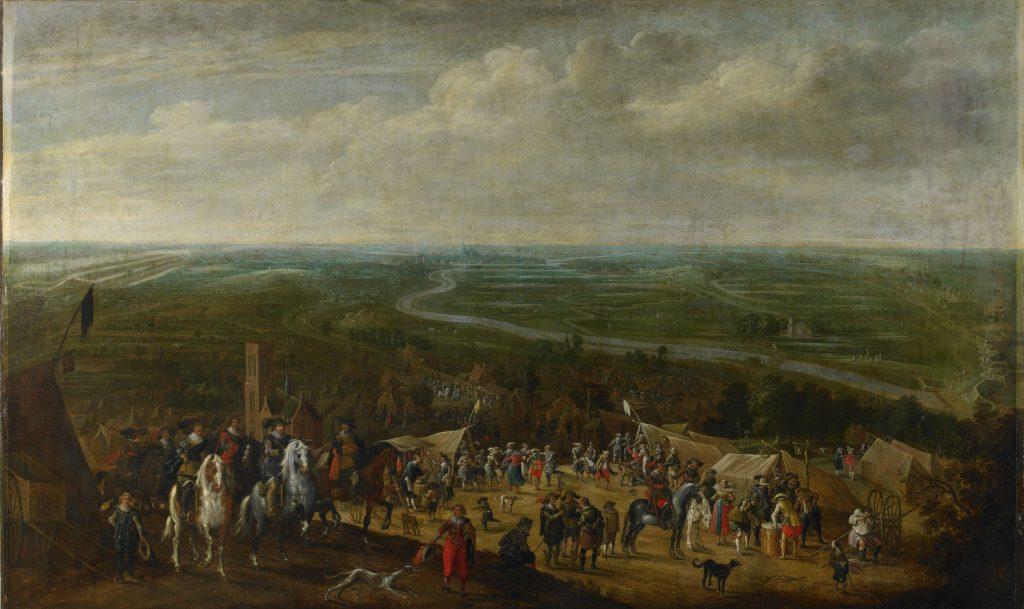Linie 1629: Prins Frederik Hendrik bij de belegering van 's-Hertogenbosch, 1629, Pauwels van Hillegaert, ca. 1631