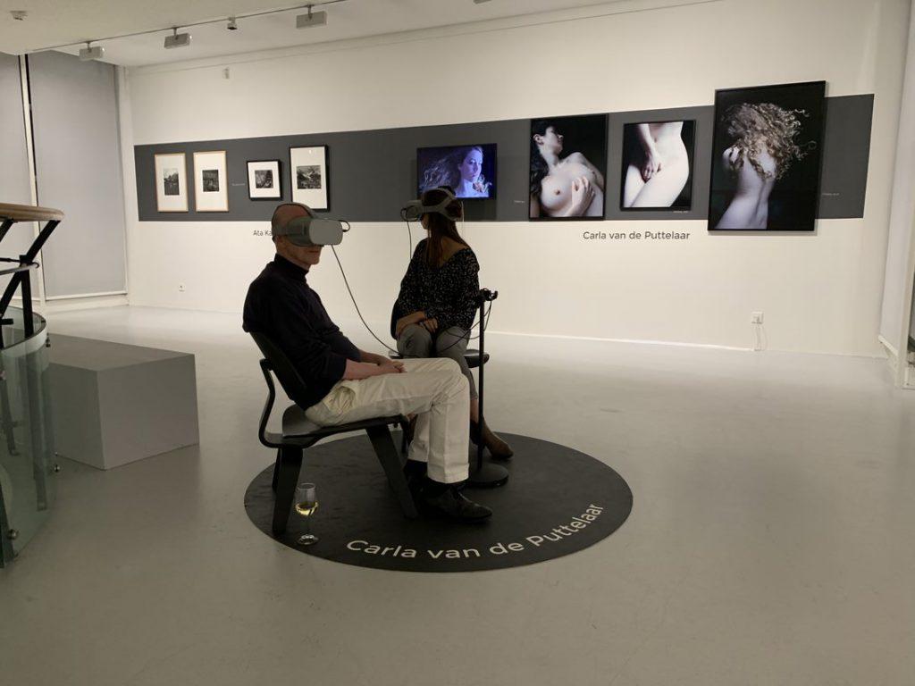 VR-beleving van Carla de Puttelaar in Museum Hilversum
