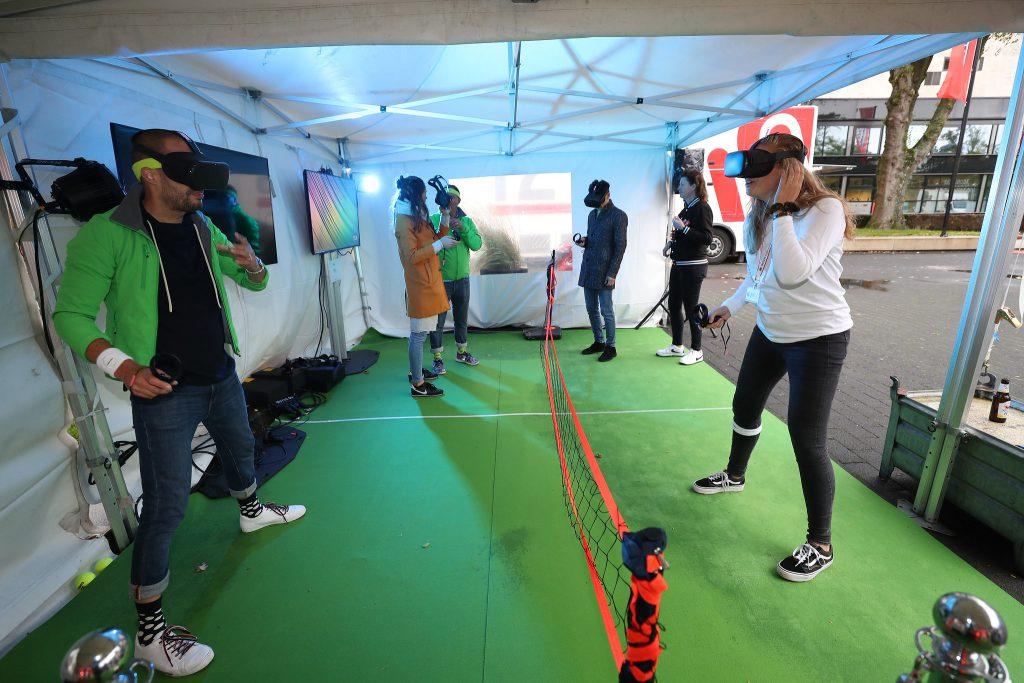 Immersive Zone VR Tennistoernooi © Paul en Menno Ridderhof