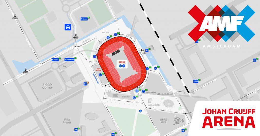 Wizzymaps Johan Cruijff ArenA