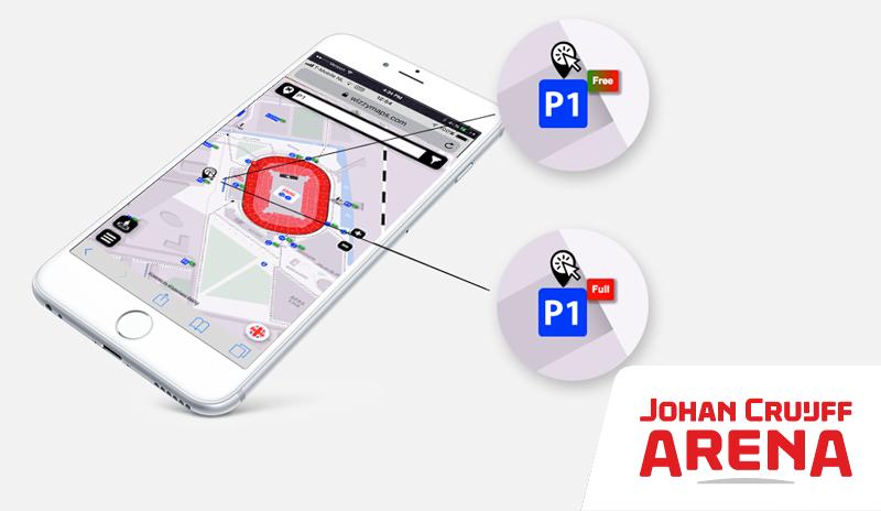 Wizzymaps van Johan Cruijff ArenA