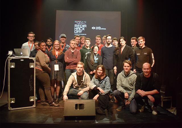 Deelnemers Media Hack Day