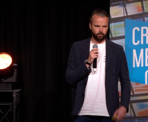 Willem Brom (EndemolShine) tijdens Cross Media Café - Video voor nieuwe platforms